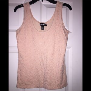 DKNY tank top with embroidered detail